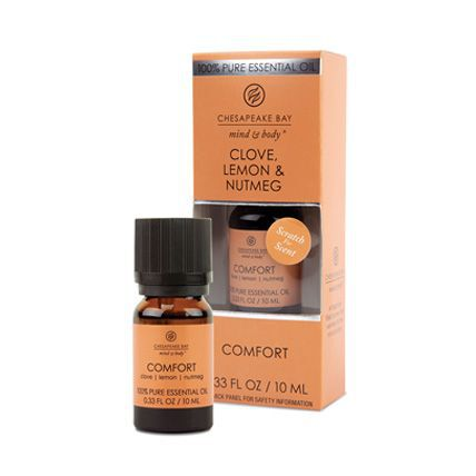 100 percent pure essential oil in clove, lemon and nutmeg scent